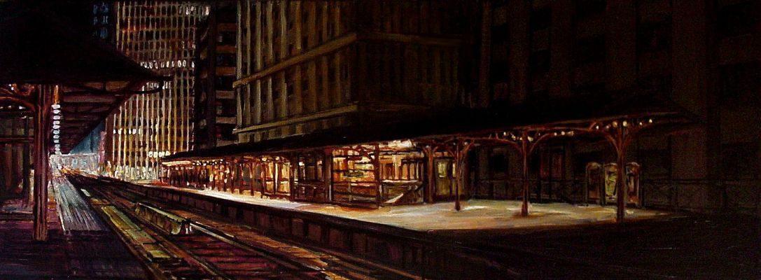 Quincy El Station