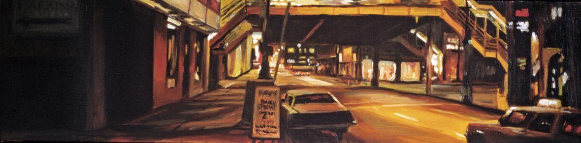 Adams & Wabash at Night
