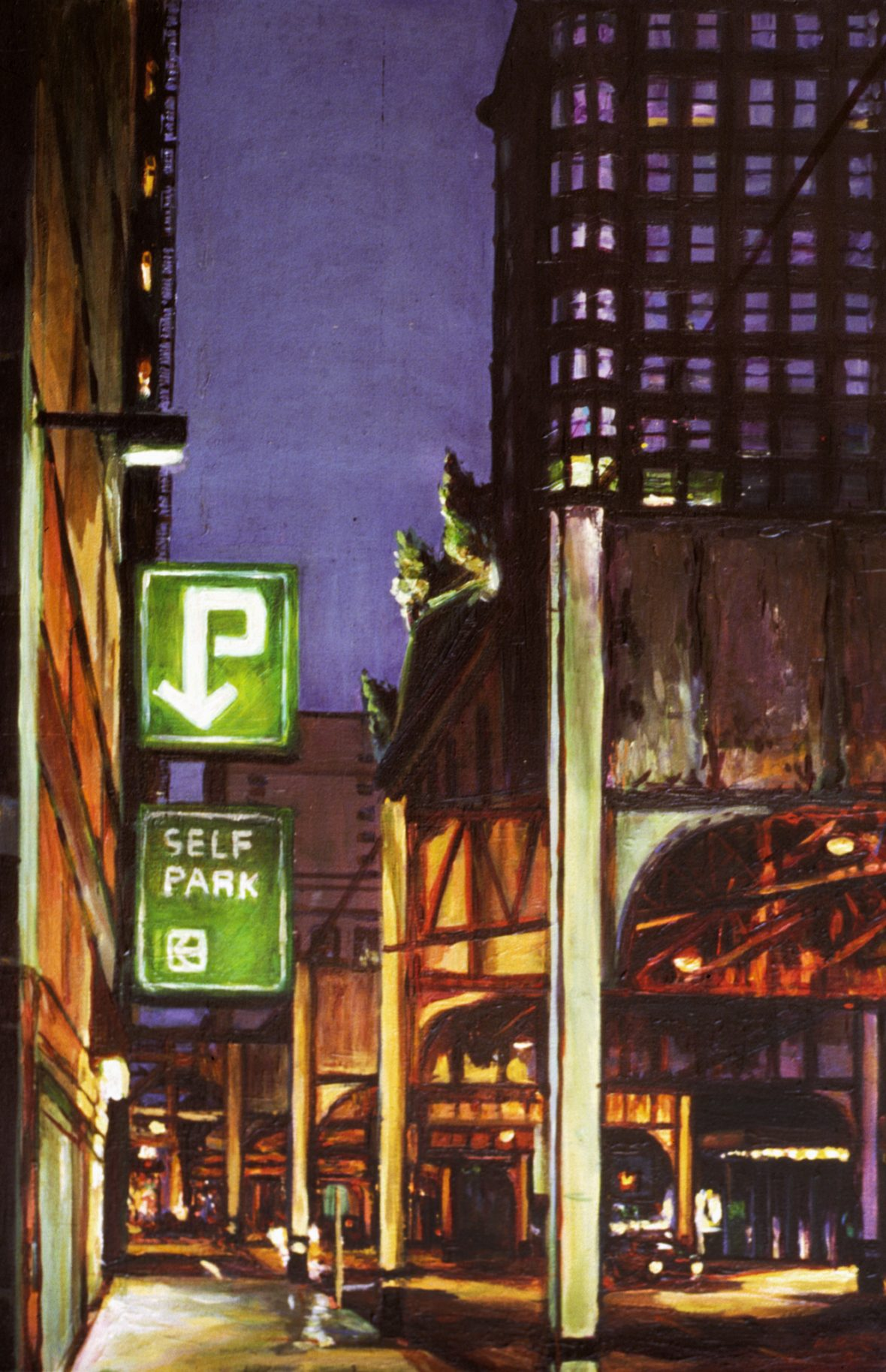 Street at Night (Self Park)