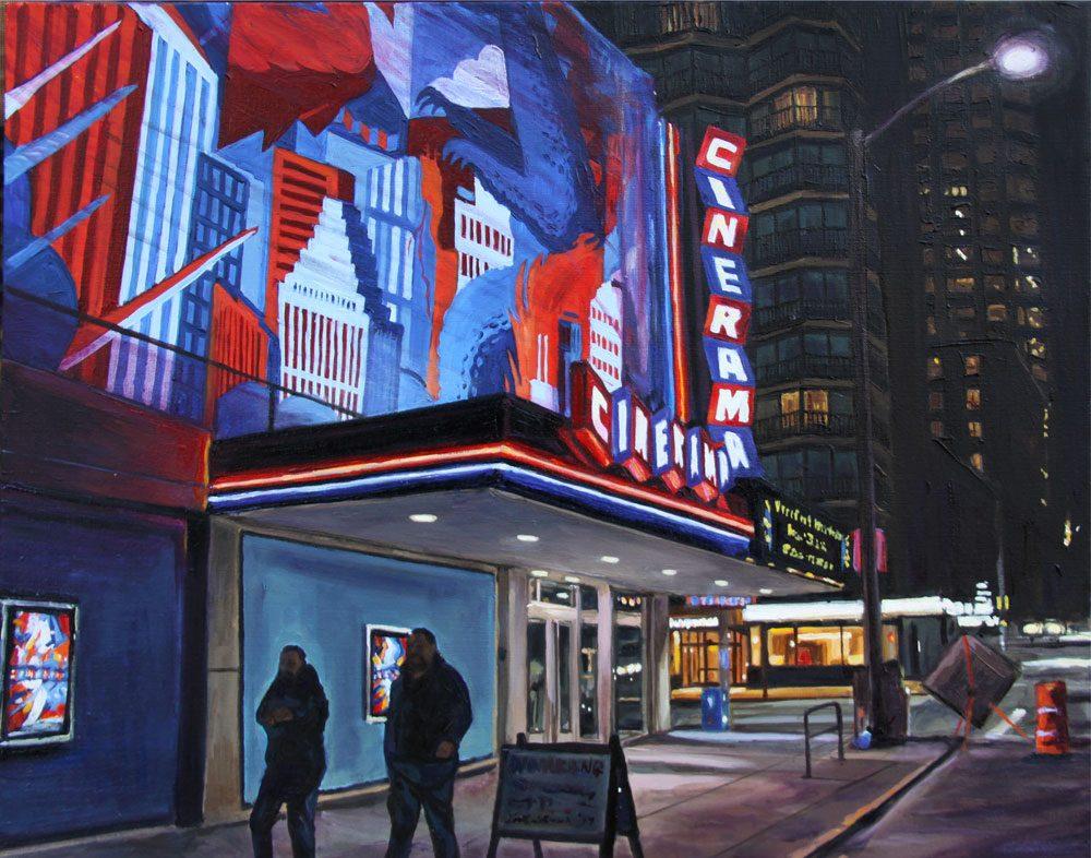 Cinerama at Night